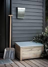 garden storage box wooden. aldsworth outdoor storage box, small - spruce garden box wooden n