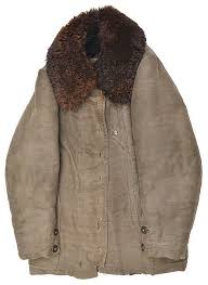 lot 525 a german third reich period brown fur lined leather flying jacket