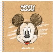 "Скетчбук-тетрадь 80л 170*170мм на гребне <b>Hatber</b> ""Disney ..."