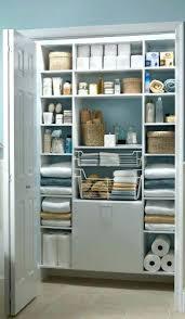 bathroom closet shelving. linen closet shelving medium size of bathroom shelves organized anyone can have
