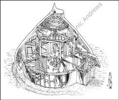round house plans. Projects Inspiration Round Barn House Plans 7 Iron Age For Pinterest