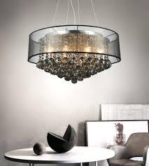 black chandelier ceiling fan