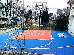 concrete basketball court paint best for outdoor painting basketball