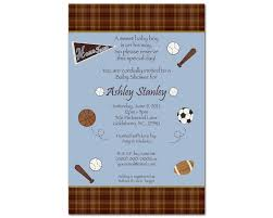 Basketball Jersey Invitations For Sports Theme Baby ShowersBaby Shower Invitations Sports Theme