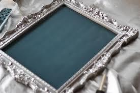 Fancy Mirror Frame Drawing Vintage Chalkboard Diy DMA Homes 31601