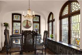 Window in spanish Arched Leadedglass Windows Klassen Remodeling Historic Spanish Revival Renovation Project Images Whitefish Bay Wis