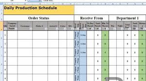 Production Schedule Template Excel Free Download Phenomenal Film Shooting Schedule Template Ideas Production