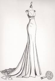 Wedding Dress Illustrations From Wedding Dress Ink