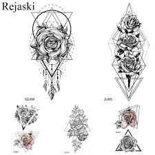 Rejaskiженская флиртовая татуировка с наклейками для тела