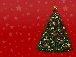 New Year Christmas Tree Backgrounds For Powerpoint Holiday Ppt