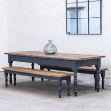 reclaimed farmhouse dining table rustic kitchen table painted handmade any size