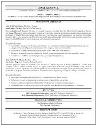 Example Resume Objective Simple Objective Of Mechanical Engineer In Resume Kenicandlecomfortzone