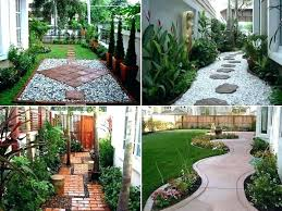Landscape Designs For Small Backyards Simple Decoration
