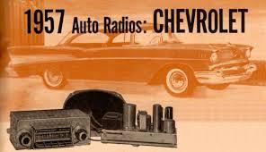 「Chevrolet 1957 Wonder Bar schematic」の画像検索結果
