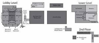 hotel floor plans. Radisson Lackawanna Station Hotel Scranton Offers A Variety Of Meeting Room Floor Plans: Plans