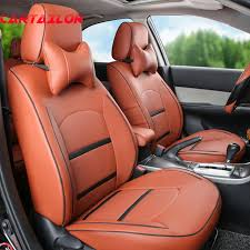 lumbar car seat covers cartailor pu leather seat covers for 2016 nissan murano car seats of