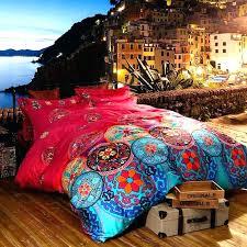 boho comforter sets bohemian queen quilt set quilts luxury bedding sets king size bedclothes bedspread