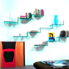glass wall shelves wall shelves by wall mounted glass shelves for