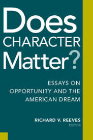 does character matter