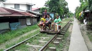 Trolley in Los Baños, Philippines - YouTube