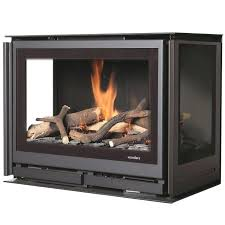 three sided fireplace gas fireplace insert 3 sided square 4 sided wood fireplace
