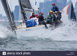 National One Design Sailboat Chicago Usa 8th June 2019 Hundreds Of Sailors Gathered