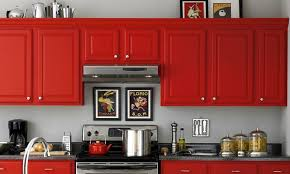 Interesting Red Kitchen Wall Colors Paint Color And Perfect Ideas