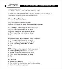 Table Of Content Template 1 Presentation Outline Slide