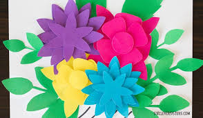 Flower Templates For Paper Flowers Pretty Paper Flowers Free Printables Six Clever Sisters
