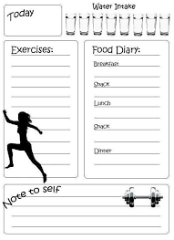 workout and food journal how to actually achieve your fitness goals workout planner