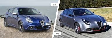 alfa romeo new car releasesAlfa Romeo Giulietta facelift old vs new  carwow