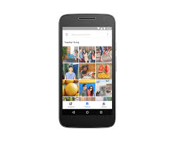 motorola android. photos stay automatically backed up and organized motorola android