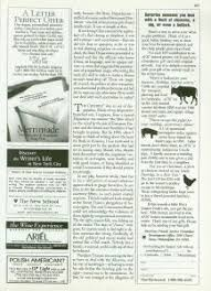why i wrote the crucible the new yorker 21 1996 p 158