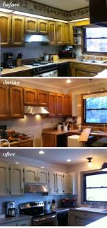Lake House Kitchen Before During After Lake House Kitchen Remodel Lake House