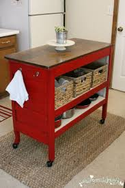 Rustic Kitchen Island Cart Rustic Kitchen Islands On Wheels White Marble Tile Flooring White