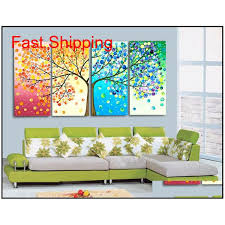 pieces canvas sets modern wall