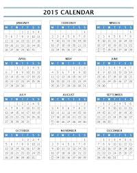 Template Monthly Calendar 2015 2015 Monthly Calendar Template For Word Globalforex Info