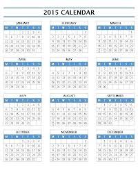 Word Template Calendar 2015 2015 Monthly Calendar Template For Word Globalforex Info