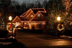 beautiful christmas lights on houses. Wonderful Lights Putting Up Outdoor Christmas Lights Is Easier With Expert Tips For Beauty  And Safety  NJcom Intended Beautiful Lights On Houses H