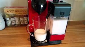 Latte test Nespresso DeLonghi Lattissima Plus +