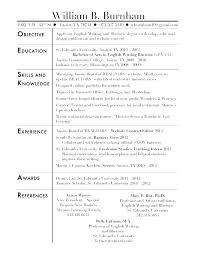 Objective Resume Example For Students Work Objectives For Resume Examples Of Objectives For A Resume