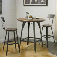 tall pub table and chairs outdoor bar black kitchen sets set with stools wood archived on