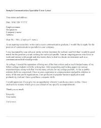 Communication Cover Letter Cover Letter Pr Trend Sample Cover Letter For Permanent Residence
