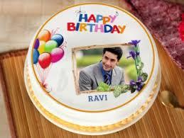 Birthday Photo Cakes Online Personalised Birthday Cakes Order Now
