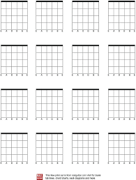 Chord Chart Template Oneskytravel Co
