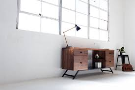 Modern Office Furniture Nyc Classy Harkavy Furniture Creates Modern Walnut Steel Office Furniture