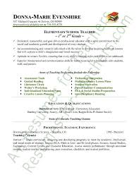 Montessori Teacher Resume Sample Educational Template All Best Cv