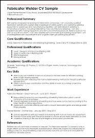 Welding Resume Objective Maggilocustdesignco Sample Welder Resume