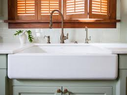 installing an a front sink