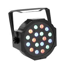 com gbgs 18led par lights dj up lighting dmx512 stage lighting with rgb magic effect al instruments